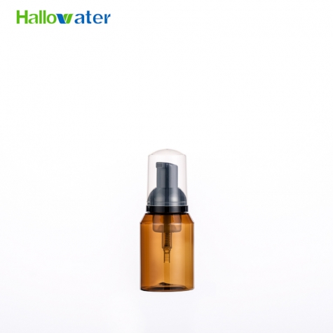 cosmetic foam pump bottle travel size