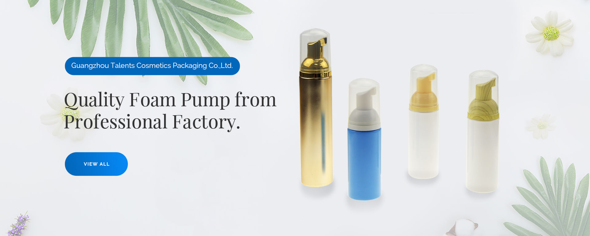 foam pump manufacturer